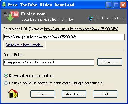 Lataa Free YouTube Video Download v1.6 (ilmainen ohjelma / freeware) - download.fi