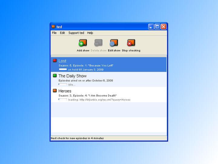 download ted torrent episode downloader