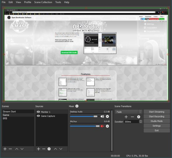 Download OBS Studio v20 0 1 (open source) - AfterDawn