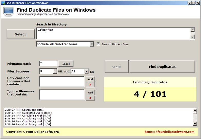 how to delete duplicate files in windows