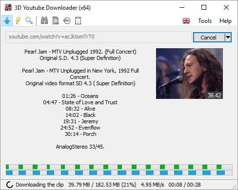 Download 3D Youtube Downloader (64-bit) v1.16.5 (freeware ...
