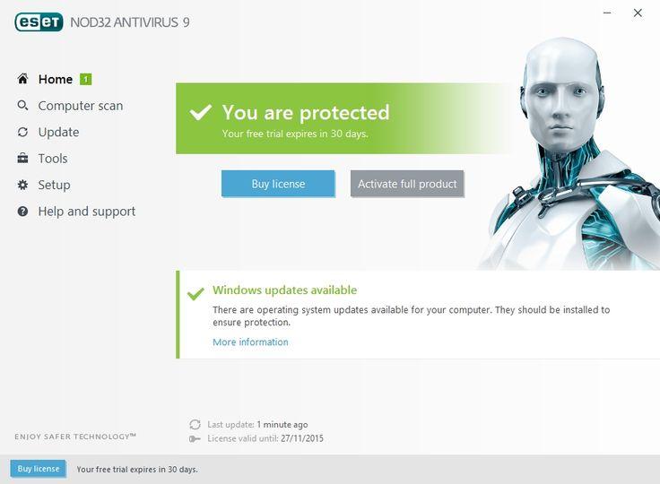 Eset smart security v4 free for 6 months.