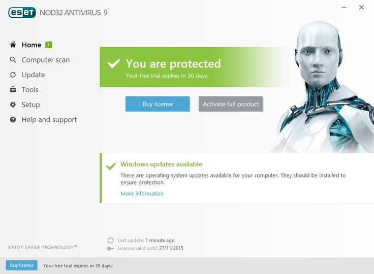 eset nod32 antivirus 5 username and password 2018 free