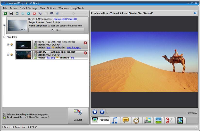 Download VSO ConvertXtoHD v2 0 0 29 - AfterDawn: Software