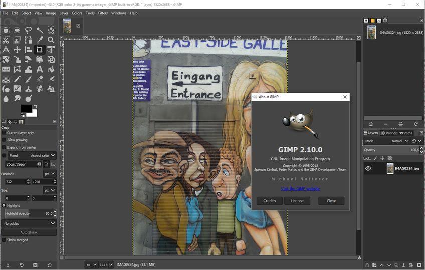 download gimp windows 7 free 32 bit