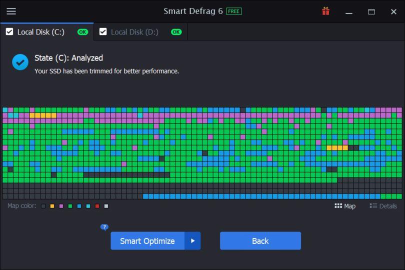 smart defrag 6 pro سيريال