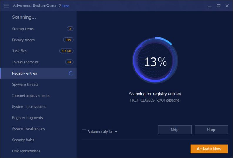 advanced systemcare freeware