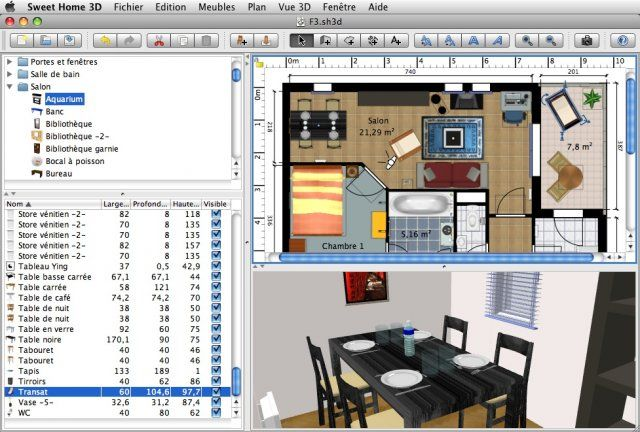 Sweet Home 3D For Mac OS X V22