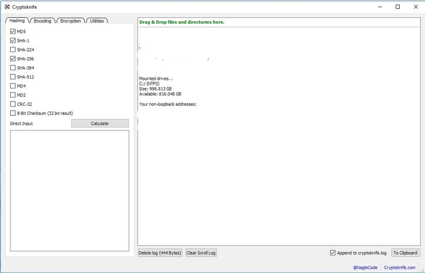 Download Cryptoknife v2 0 1 (open source) - AfterDawn: Software
