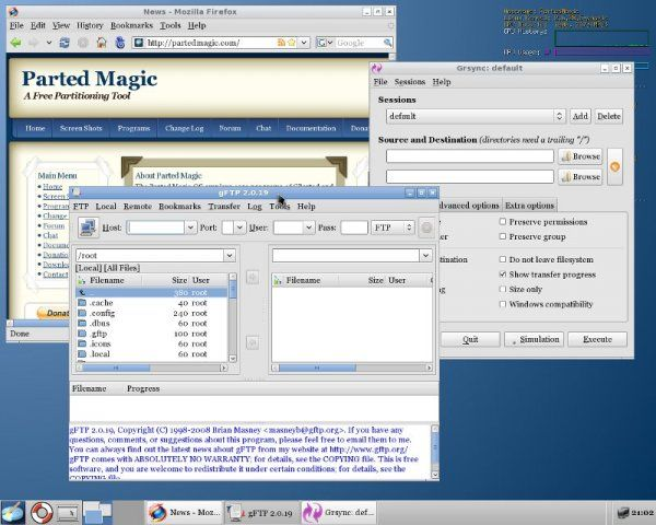 parted magic portable download