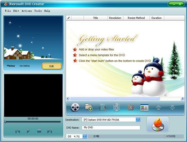 dvd flick menu templates download - download 3herosoft dvd creator v4 2 afterdawn