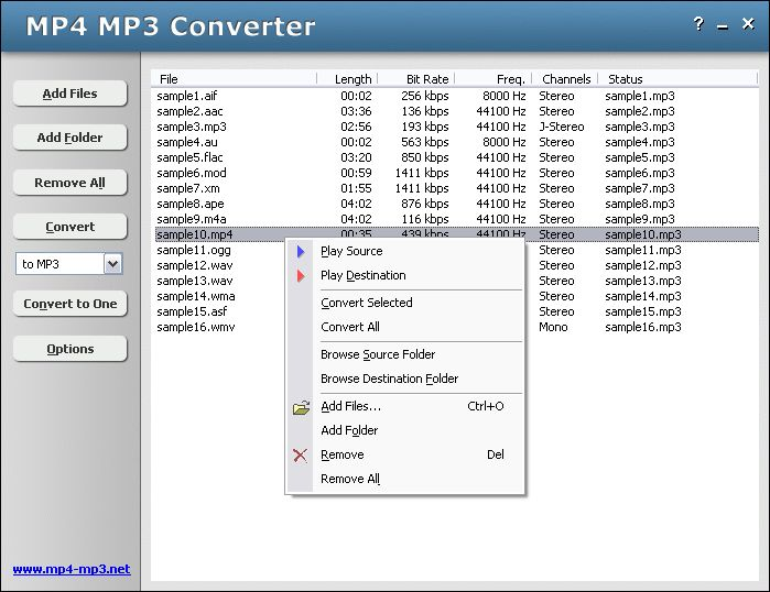 Your no. 1 MP4 to MP3 converter