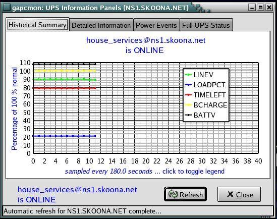 apcupsd ups control software v3148