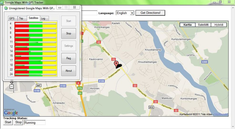 Download Google Maps With GPS Tracker v43.0 - AfterDawn: ... on