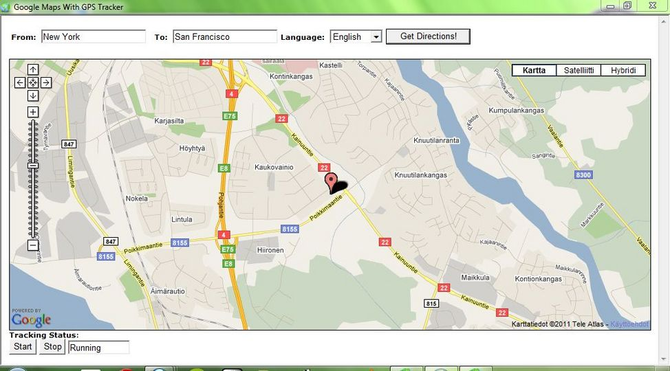 Gprs Map Download Download Google Maps With GPS Tracker v43.0   AfterDawn: Software