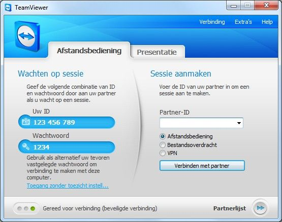 TeamViewer Portable v6.0.10344 screenshot 1 / 3
