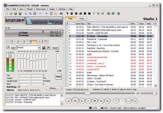 Download RadioBOSS v5.2.3.0 - AfterDawn: Software downloads RadioBOSS v4.5.0.735