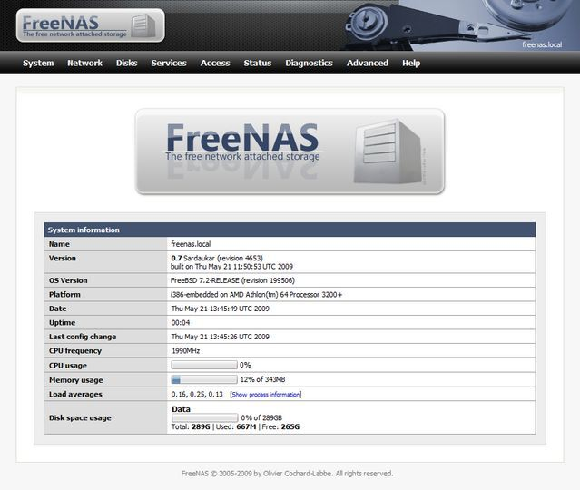 Download FreeNAS (64-bit) v9 2 1 9 (open source) - AfterDawn