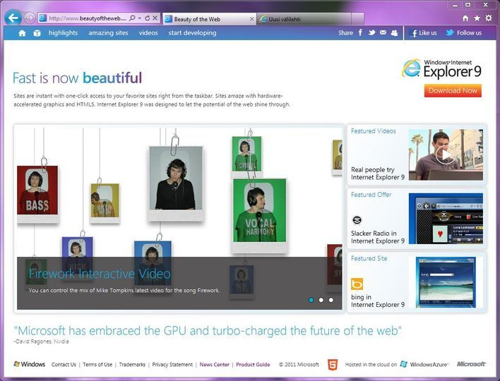internet explorer 9 for windows 7 32 bit full download