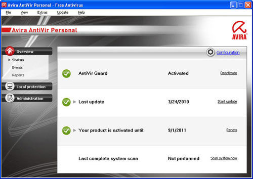 Avira free antivirus 15. 0. 42. 11 download for windows / filehorse. Com.