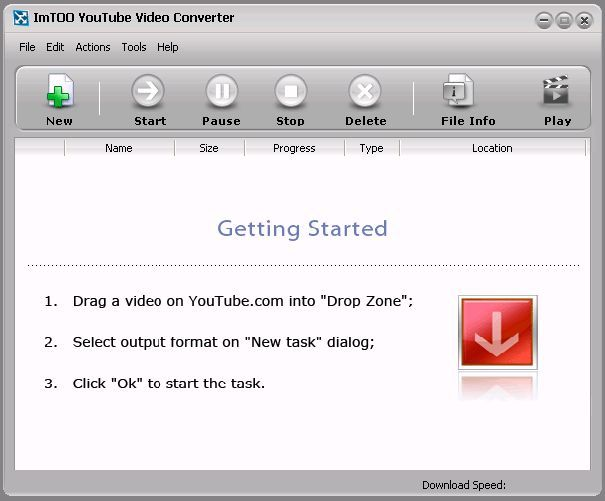 Lataa ImTOO YouTube Video Converter for Mac OS X v2.0.3.1217 - download.fi