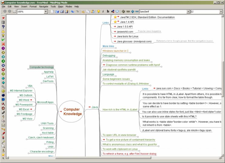 freemind for mac os x v090 - Osx Mind Mapping