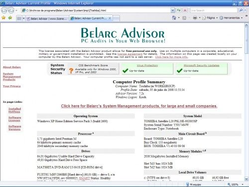 belarc advisor v8.3b review and