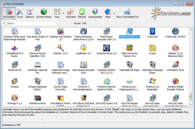 Download Revo Uninstaller Portable V2 1 7 Freeware Afterdawn Software Downloads