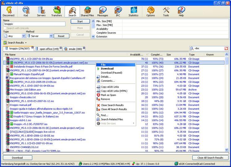 programma emule v 0 47b