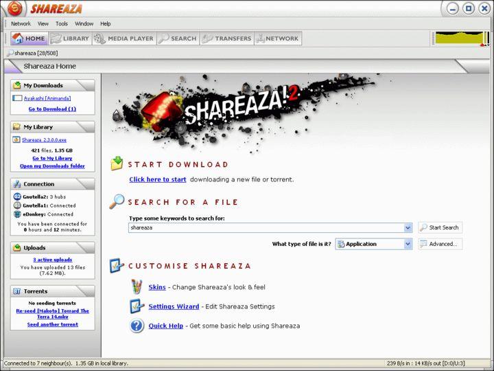 shareaza 2012 gratuit