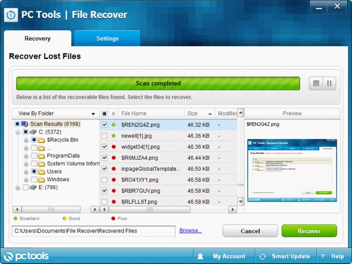 pc tools file recovery software free download