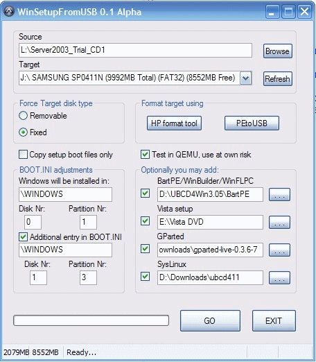 winsetup from usb windows 7 gratuit