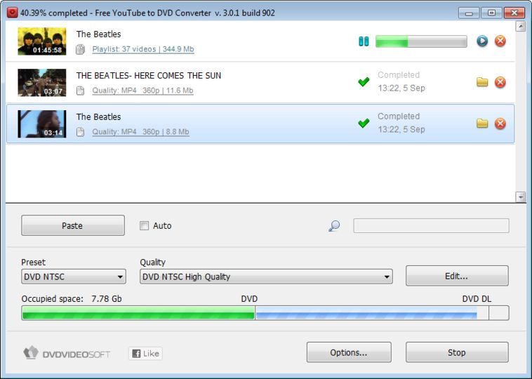 Download Free YouTube to DVD Converter v3.1.103.829 - AfterDawn Nederland: Software downloads
