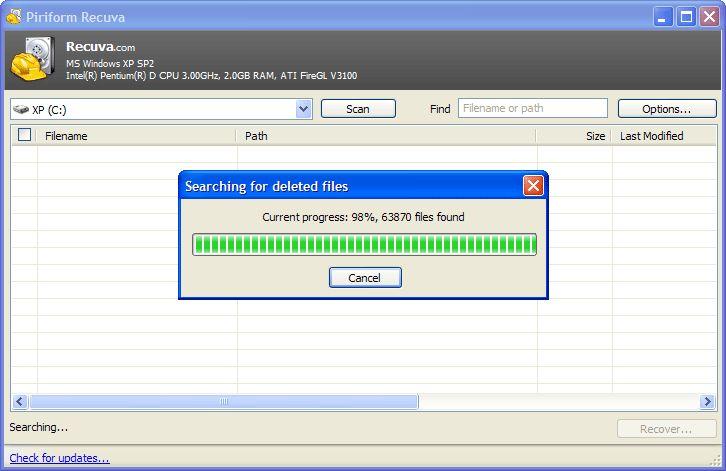 Download Recuva v1 52 1086 (freeware) - AfterDawn: Software downloads