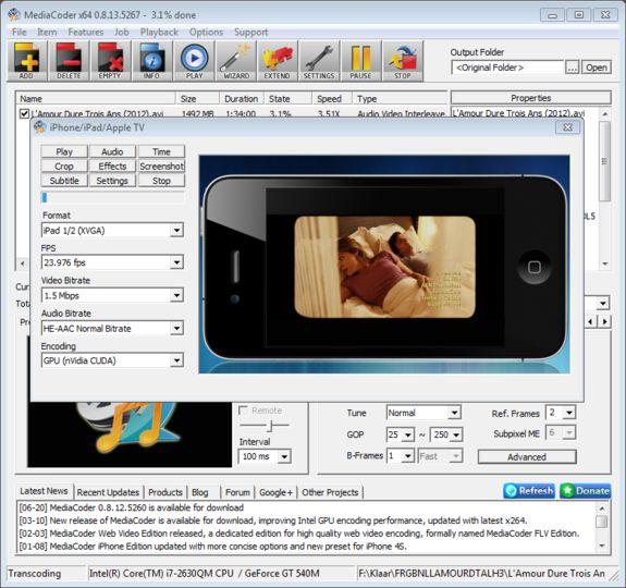 Download MediaCoder (64-bit) v0 8 58 5982 (open source) - AfterDawn