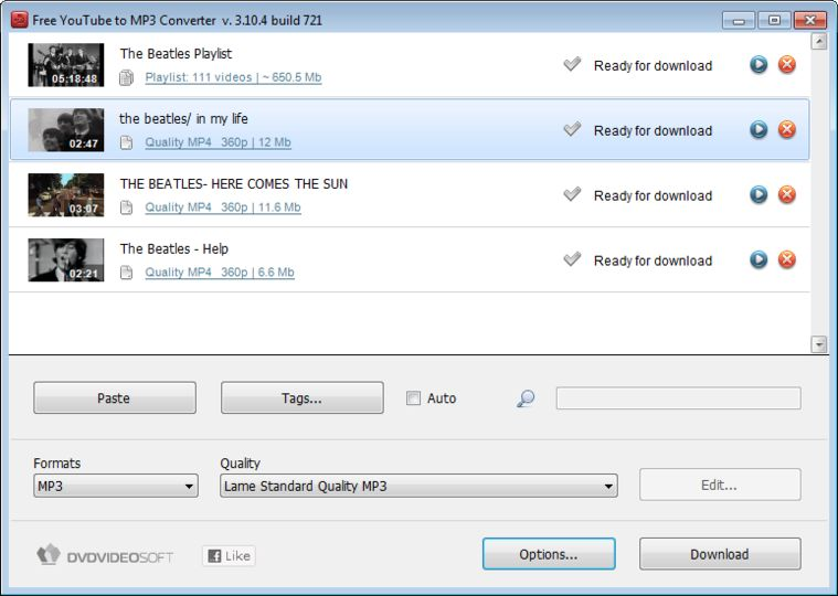 Download Free YouTube to MP3 Converter v4.1.82.827