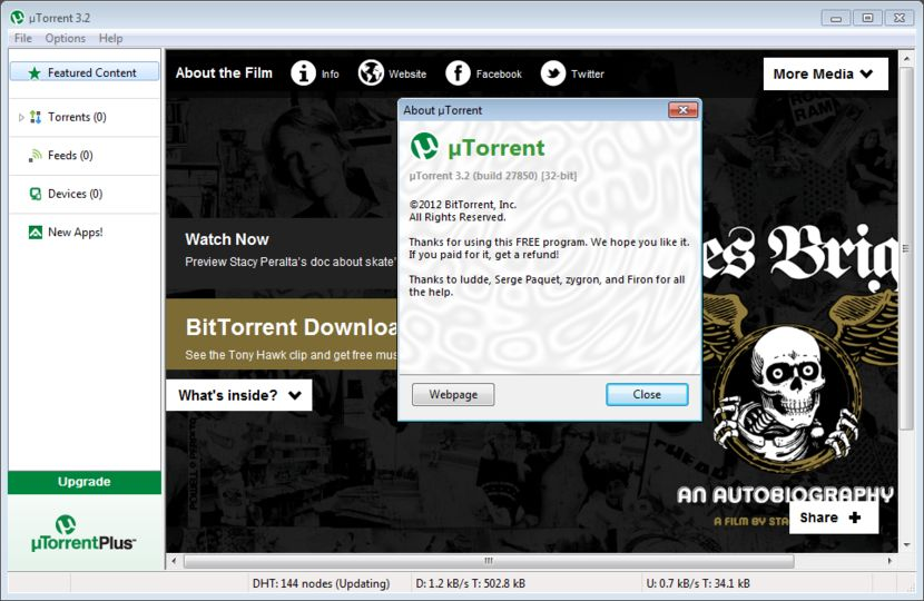 utorrent 1.6 1 free download