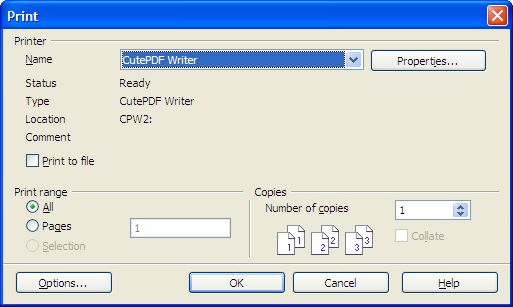 Download cutepdf writer free (windows)