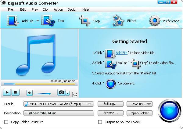 Free <b>Audio</b> <b>Converter</b> 5.1.7.215 - Télécharger