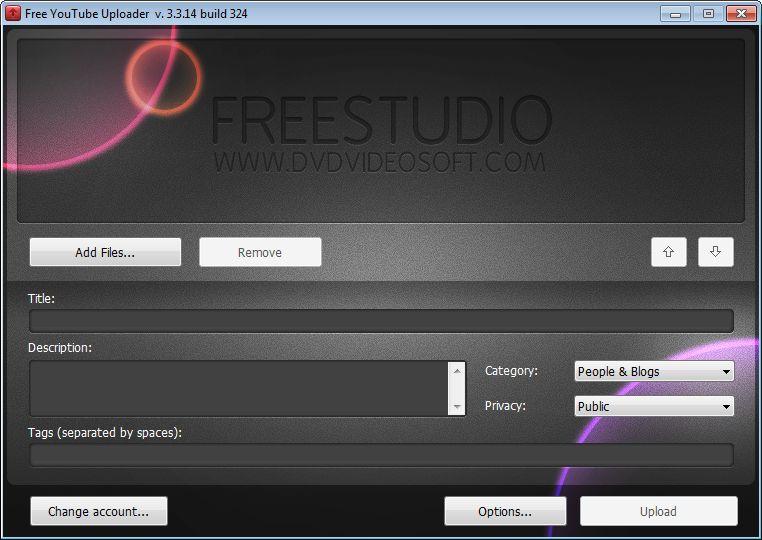 Download Free YouTube Uploader v4 0 62 705 - AfterDawn: Software
