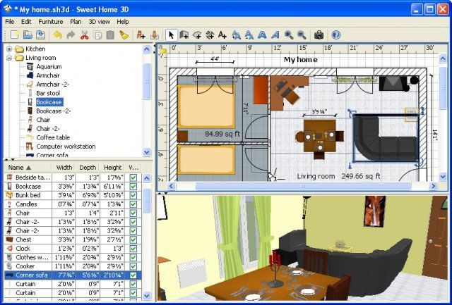 Sweet Home 3D  portable  v3 7. Download Sweet Home 3D  portable  v5 4  open source    AfterDawn
