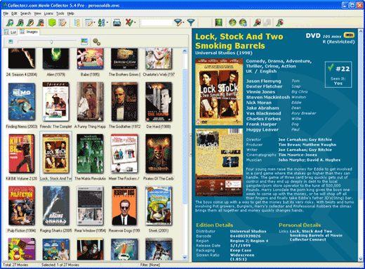 Collectorz com movie collector pro v5 6 1te