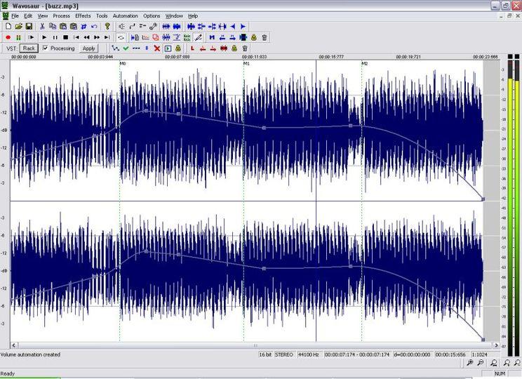 wavosaur free audio editor gratuit