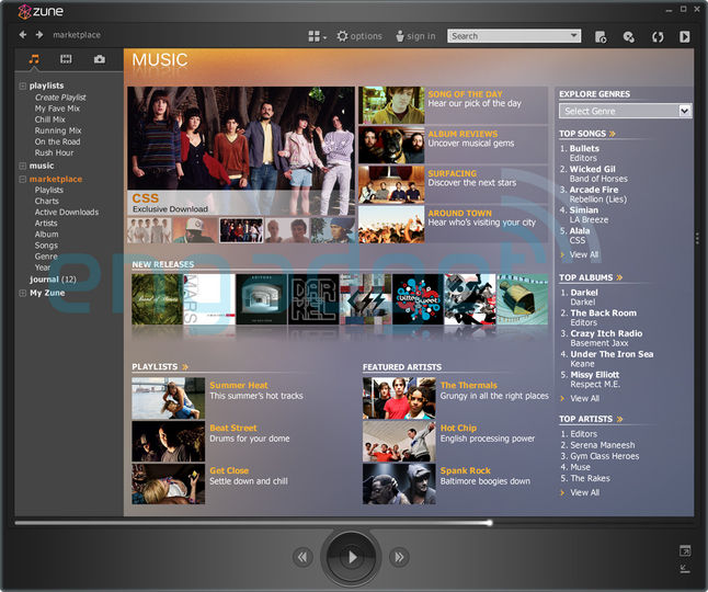 free download zune software for windows 7