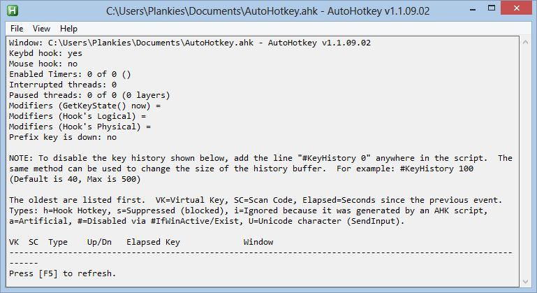 Download AutoHotkey (Portable 32 and 64-bit) v1 1 28 01 (open source