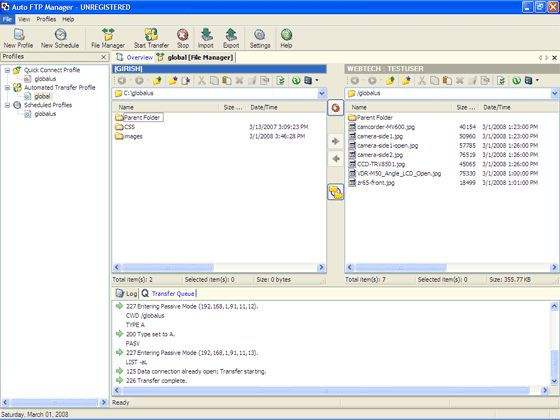 Download Auto FTP Manager v5 31 - AfterDawn: Software downloads
