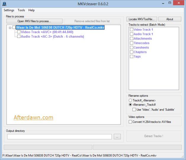 Download MKVcleaver (64-bit) v0 8 0 0 (freeware) - AfterDawn