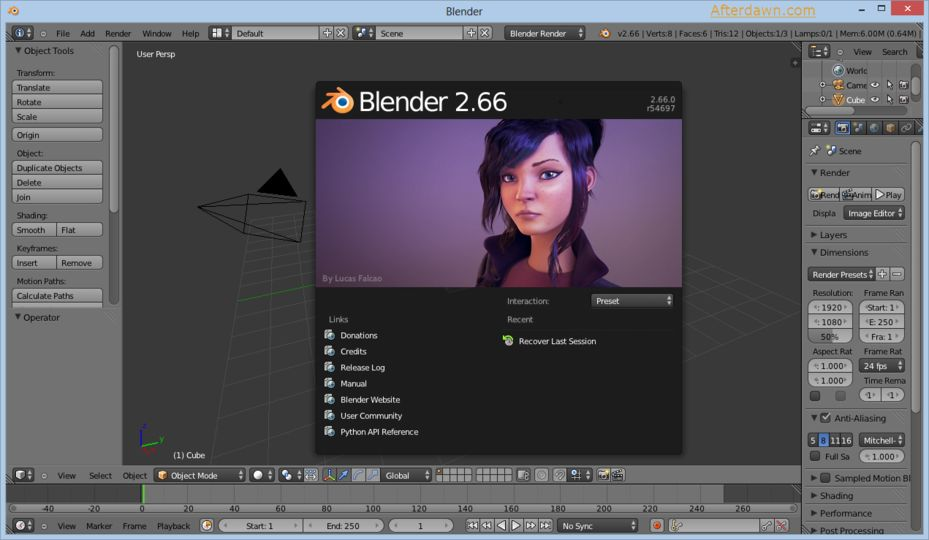 download aplikasi blender 3d full version