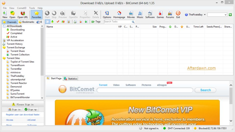 download bitcomet portable v1 51 freeware afterdawn software rh afterdawn com BitComet for Windows 8 User ID and Password