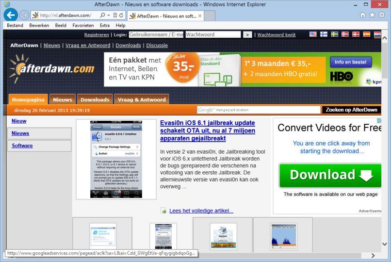 Download Internet Explorer 10 Windows 7 (64-bit nederlands